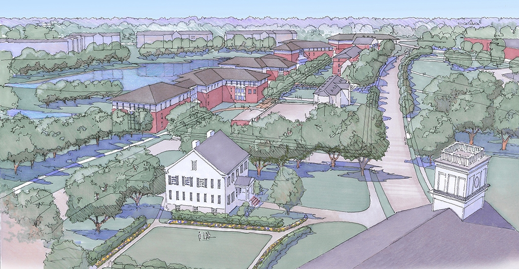 Alcorn State University Campus Map.Alcorn State University Lpk Architects